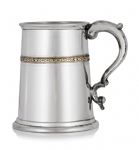 1 Pint Tankard with 1 Brass Band